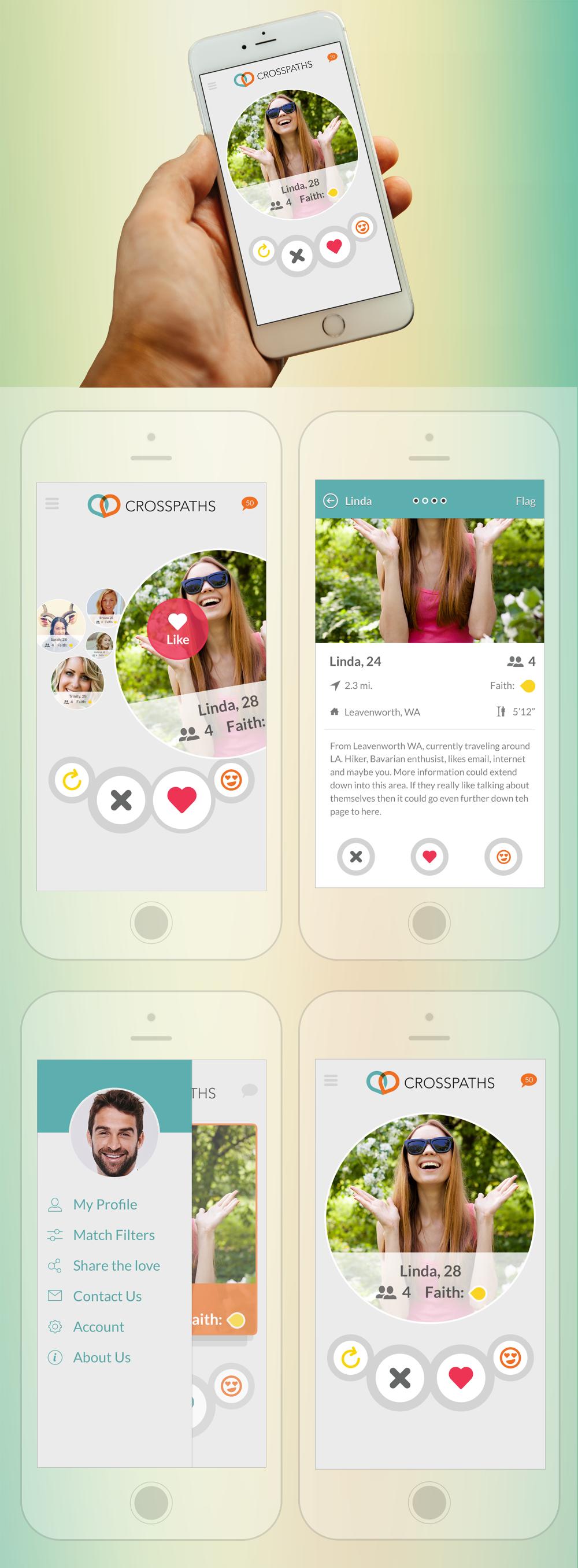 crosspath dating app