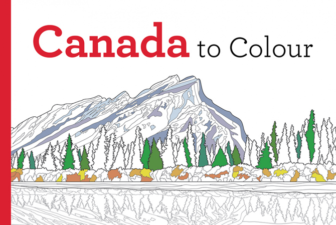 from green gables in prince edward island to the rugged coast of british columbia to the majestic north colour your way across canada with scenes that - Picture To Colour